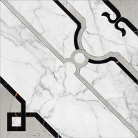 Marble Trend K-1000/MR/d01-cut/60x60 Carrara